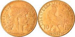 World Coins - Coin, France, Marianne, 10 Francs, 1906, Paris, , Gold, KM:846