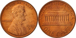 Us Coins - United States, Lincoln Cent, 1980, Denver, KM:201