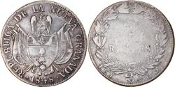 World Coins - Coin, Colombia, 10 Reales, 1848, , Silver, KM:107