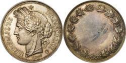 World Coins - France, Medal, Cérès, République Française, Oudiné, , Silver