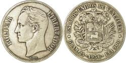 World Coins - Coin, Venezuela, Gram 25, 5 Bolivares, 1936, , Silver, KM:24.2