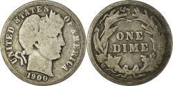Us Coins - Coin, United States, Barber Dime, Dime, 1900, U.S. Mint, Philadelphia
