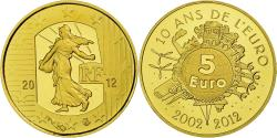 Ancient Coins - France, 5 Euro, 2012, BE, , Gold, Gadoury:EU525, KM:1890