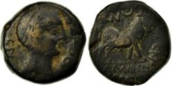 Ancient Coins - Coin, Spain, Semis, Castulo, VF(30-35), Copper