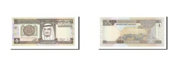 World Coins - Saudi Arabia, 1 Riyal, 1984, KM #21b, UNC(65-70)