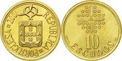World Coins - Coin, Portugal, 10 Escudos, 2001, , Nickel-brass