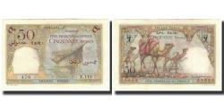 World Coins - Banknote, French Somaliland, 50 Francs, 1952, KM:25, UNC(64)