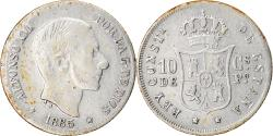 World Coins - Coin, Philippines, 10 Centimos, 1882, , Silver, KM:148