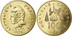 World Coins - Coin, New Caledonia, 100 Francs, 1976, Paris, ESSAI, , Nickel-Bronze