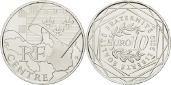 World Coins - FRANCE, 10 Euro, 2010, Paris, KM #1650, , Silver, 29, 10.00