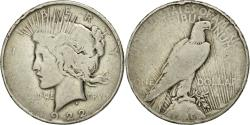 Us Coins - Coin, United States, Peace Dollar, Dollar, 1922, U.S. Mint, Denver, VF(20-25)