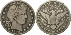 Us Coins - Coin, United States, Barber Half Dollar, 1909, San Francisco,