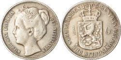 World Coins - Coin, Netherlands, Wilhelmina I, 1/2 Gulden, 1905, , Silver, KM:121.2