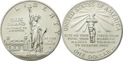 Us Coins - Coin, United States, Dollar, 1986, U.S. Mint, San Francisco, , Silver, KM:214
