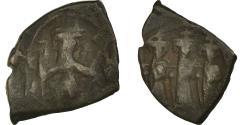 Ancient Coins - Coin, Constans II, Constantine IV, Heraclius and Tiberius, Follis, 659-663