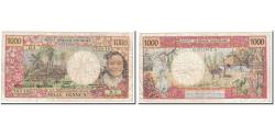 World Coins - Banknote, New Caledonia, 1000 Francs, 1983, Undated, KM:64b, VF(20-25)