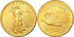 Us Coins - Coin, United States, Saint-Gaudens, $20, Double Eagle, 1914, U.S. Mint, Denver