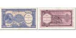 World Coins - Banknote, Belgian Congo, 1000 Francs, 1962, 1962-02-15, KM:29a, AU(50-53)