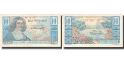 World Coins - Banknote, French Equatorial Africa, 10 Francs, KM:21, AU(50-53)