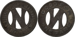 Us Coins - United States, Token, Shenango Valley Transport Company