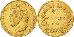 Ancient Coins - Coin, France, Louis-Philippe, 20 Francs, 1834, Lille, , Gold, KM:750.5
