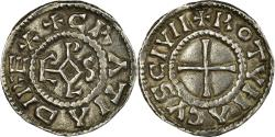 World Coins - Coin, France, Charles le Chauve, Denarius, 864-875, Rouen, , Silver