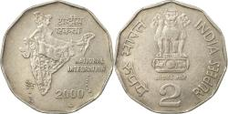 World Coins - Coin, INDIA-REPUBLIC, 2 Rupees, 2000, , Copper-nickel, KM:121.3