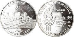 Us Coins - Coin, United States, Atlanta, Dollar, 1996, U.S. Mint, Philadelphia,