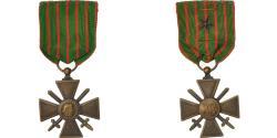 World Coins - France, Croix de Guerre, Medal, 1914-1918, Very Good Quality, Bronze, 37