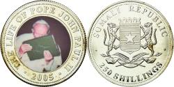 World Coins - Coin, Somalia, 250 Shillings, 2005, , Silver Plated Base Metal, KM:123