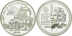 World Coins - Coin, France, Europa - L'art de la Renaissance, 6.55957 Francs, 2000, Paris