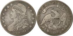 Us Coins - Coin, United States, Capped Bust, Half Dollar, 1830, U.S. Mint, Philadelphia