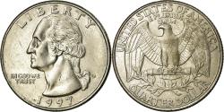 Us Coins - Coin, United States, Washington Quarter, Quarter, 1997, U.S. Mint, Denver