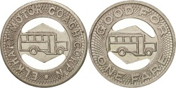 Us Coins - United States, Token, Elkhart Motor Coach Corporation