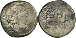 Ancient Coins - Coin, Pinaria, Denarius, Rome, , Silver, Crawford:208/1