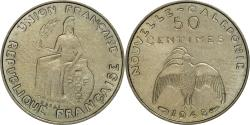 World Coins - Coin, New Caledonia, 50 Centimes, 1948, Paris, MS(60-62), Nickel-Bronze, KM:E2