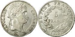 Ancient Coins - Coin, France, Napoléon I, 5 Francs, 1809, Rouen, , Silver, KM:694.2