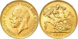 World Coins - Coin, South Africa, George V, Sovereign, 1931, Pretoria, , Gold, KM:A22