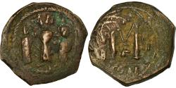 Ancient Coins - Coin, Heraclius, with Martina and Heraclius Constantine, Follis, 616-617