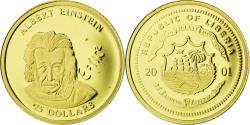 World Coins - Coin, Liberia, Einstein, 25 Dollars, 2001, , Gold