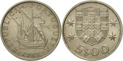 World Coins - Coin, Portugal, 5 Escudos, 1985, , Copper-nickel, KM:591