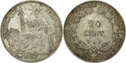 World Coins - Coin, FRENCH INDO-CHINA, 20 Cents, 1927, Paris, , Silver, KM:17.1