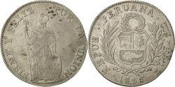 World Coins - Coin, Peru, 4 Réales, 1836, Cuzco, EF(40-45), Silver, KM:151.1