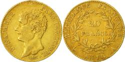 World Coins - Coin, France, Napoléon I, 20 Francs, 1804, Paris, EF(40-45), Gold, KM:651