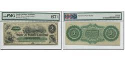 World Coins - Banknote, United States, 2 Dollars, 1872, 1872-03-02, South Carolina, graded