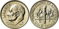 Us Coins - Coin, United States, Roosevelt Dime, Dime, 2003, U.S. Mint, Denver,