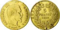 World Coins - Coin, France, Napoleon III, 5 Francs, 1859, Strasbourg, , Gold