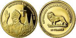 World Coins - Coin, CONGO, DEMOCRATIC REPUBLIC, 20 Francs, 2005, Proof, , Gold