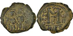 Ancient Coins - Coin, Justin II, Follis, 572-573, Nicomedia, , Copper, Sear:369