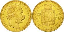 Ancient Coins - Coin, Hungary, Franz Joseph I, 8 Forint 20 Francs, 1880, Kormoczbanya